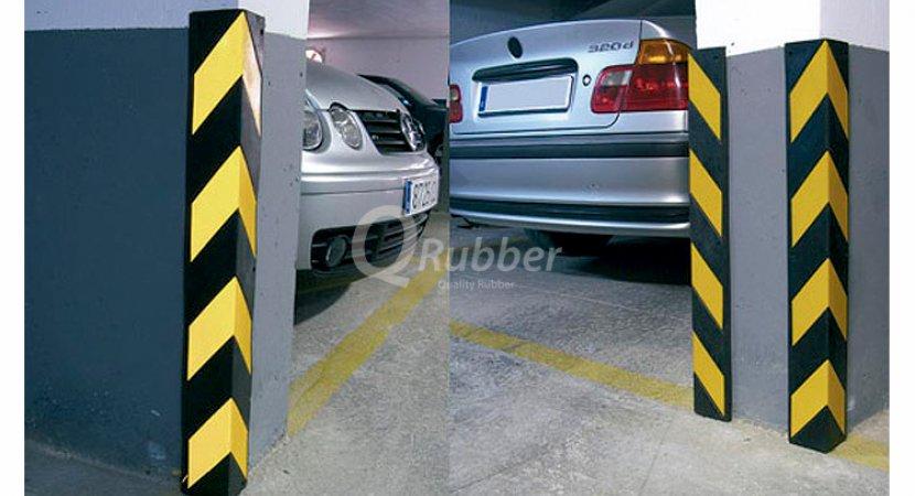 Protector pilar estacionamiento